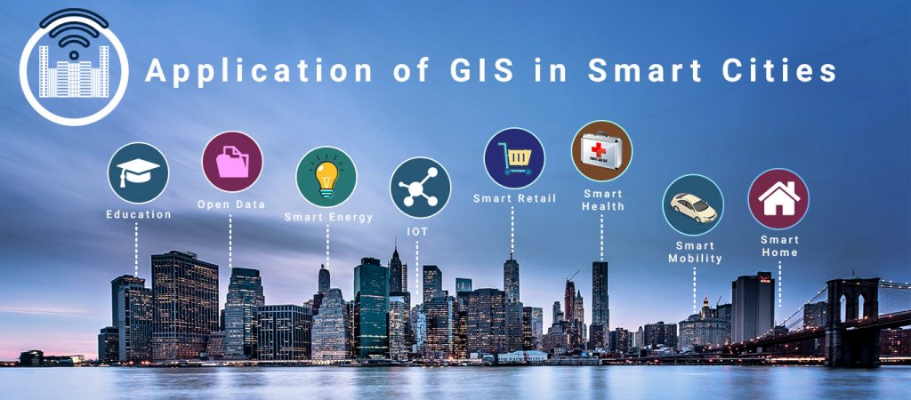 Application of GIS in Smart Cities